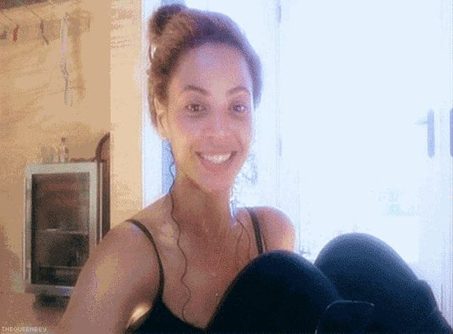 Beyonce Without Makeup Candid