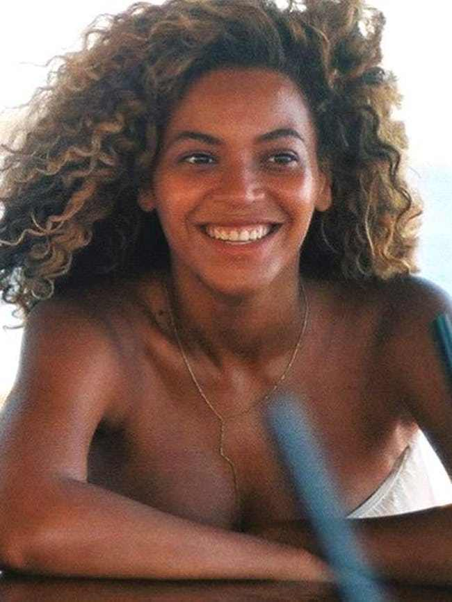 Beyonce Without Makeup Fresh Face