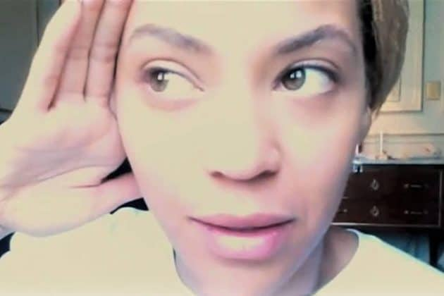 Beyonce Without Makeup Listen Carefully