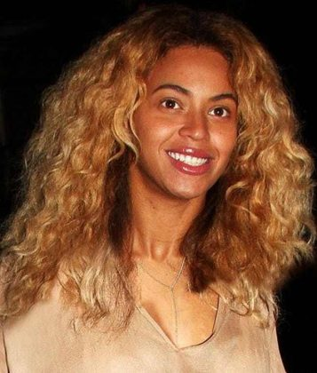 Beyonce Without Makeup Smile