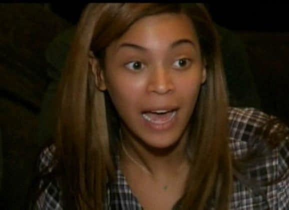 Beyonce Without Makeup Surprised