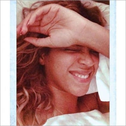 Beyonce Without Makeup Waking Up