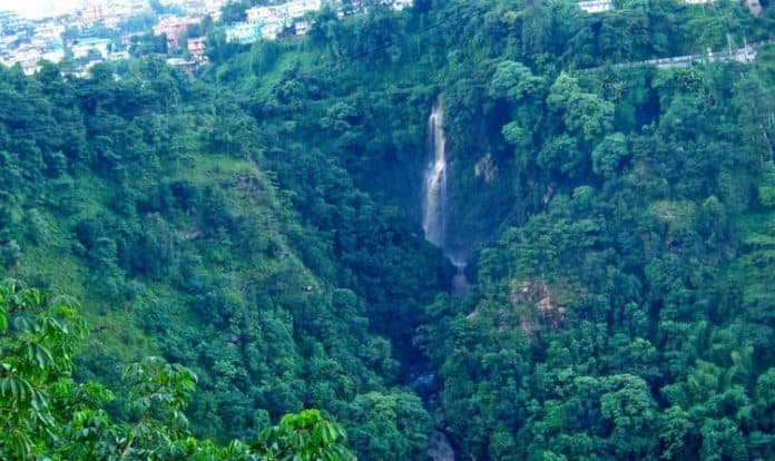 Bishop Falls Is Famous Water Falls To Visit In Shillong