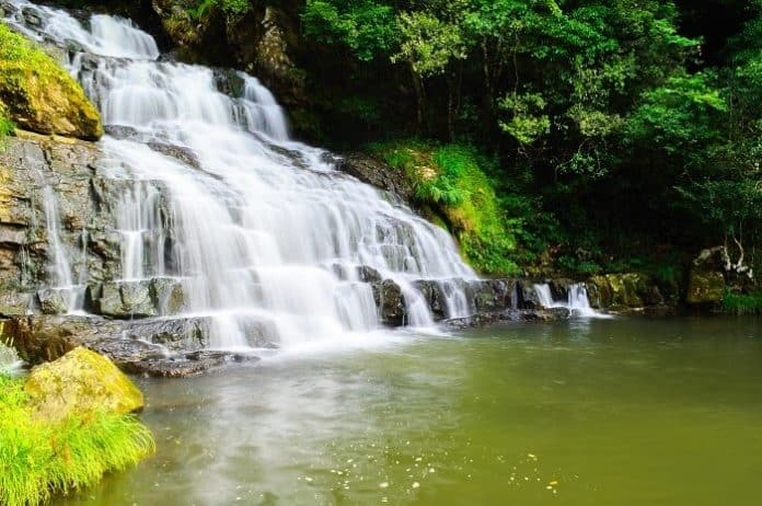 Elephant Falls Is One Of The Attractive Place Of Shillong