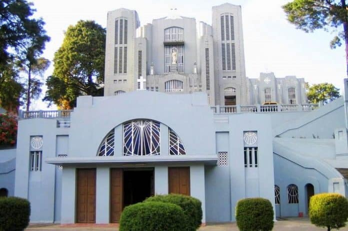 Cathedral Church Is One of The Famous Church Of Shillong