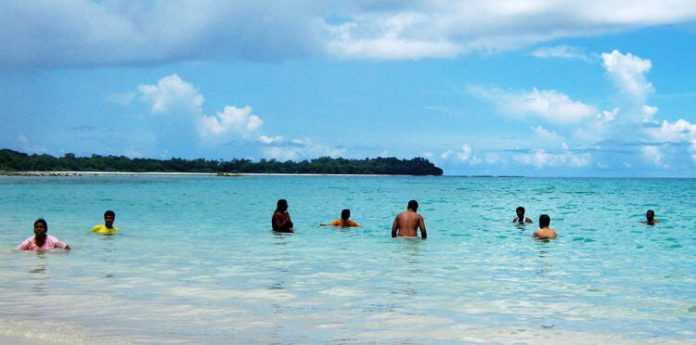 Ross and Smith Beach Is A Serene and Small Island In Andaman and Nicobar