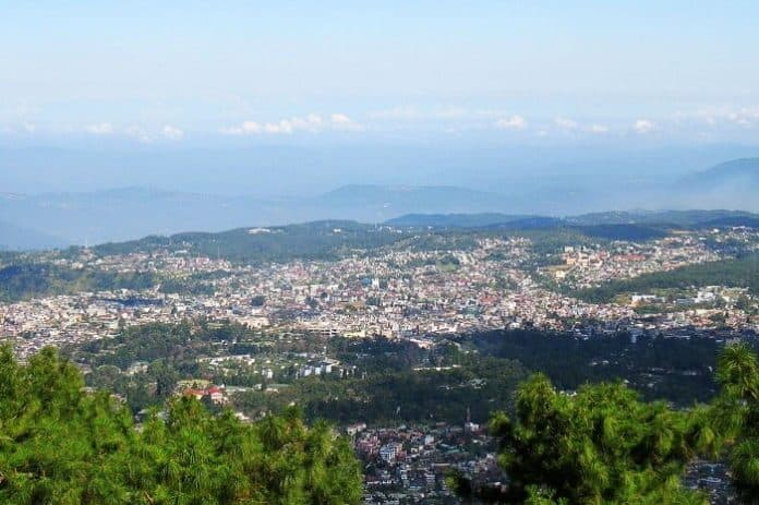 Shillong Peak Is The View Point Of Shillong