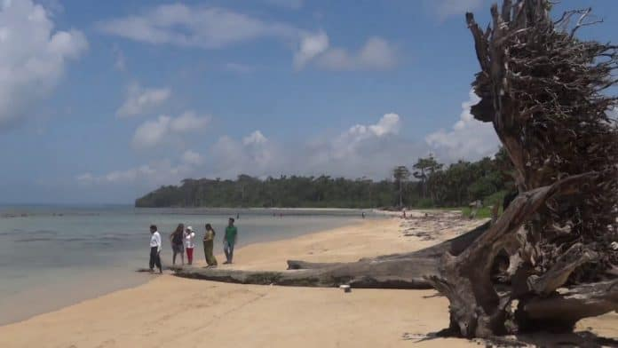 Wandoor Beach Is A Small Village Near The South Andaman's Southern Point
