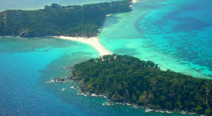 Cinque Island Popular For Shallow Water & Marine Park In Andaman and Nicobar Islands