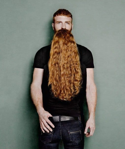Longest Beard - Look Twice To Understand This Photos