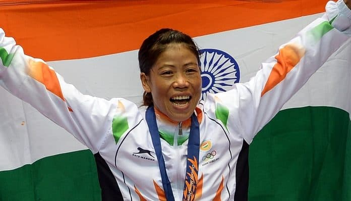 MC Mary Kom Is Boxing Champion Of Indian Sport Celebrity
