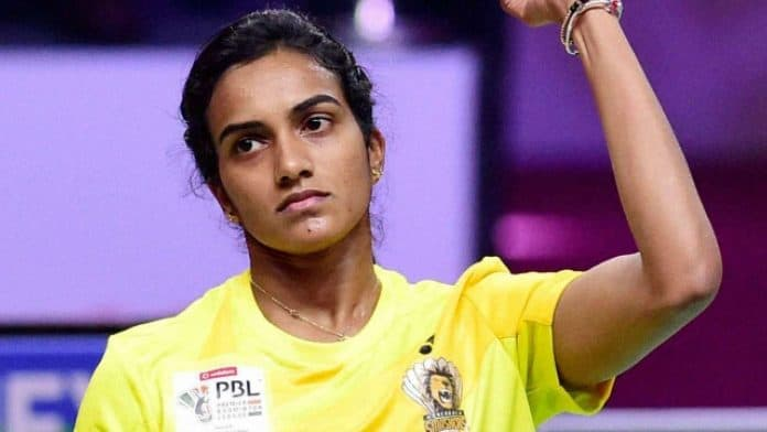 PV Sindhu Is The Indian Rising Star In Badminton