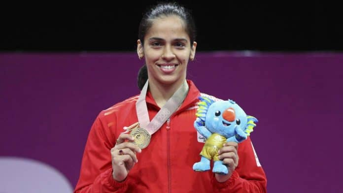 Saina Nehwal Is One Of The Female Sports Celebrities In Badminton