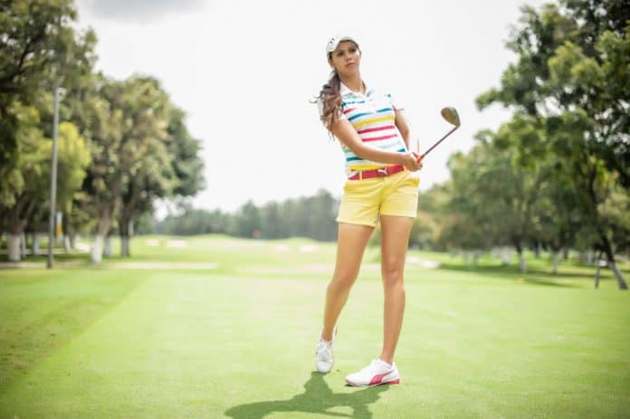 Sharmila Nicollet Is A Bangalore Based Indo-French Golfer