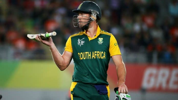 AB de Villiers Created A Record By Scoring Fastest 50 In ODI Cricket Matches
