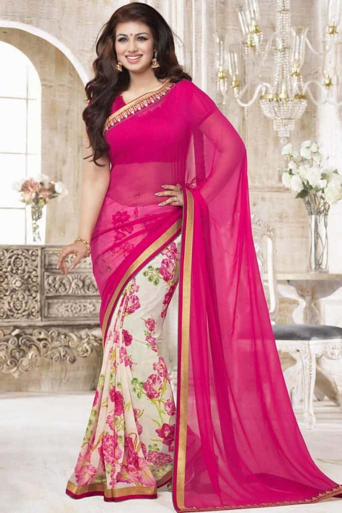 Ayesha Takia In Saree
