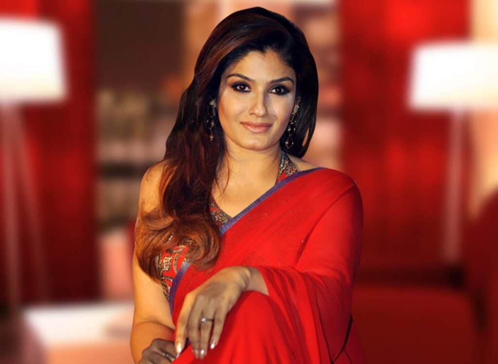 Raveena Tandon In Saree