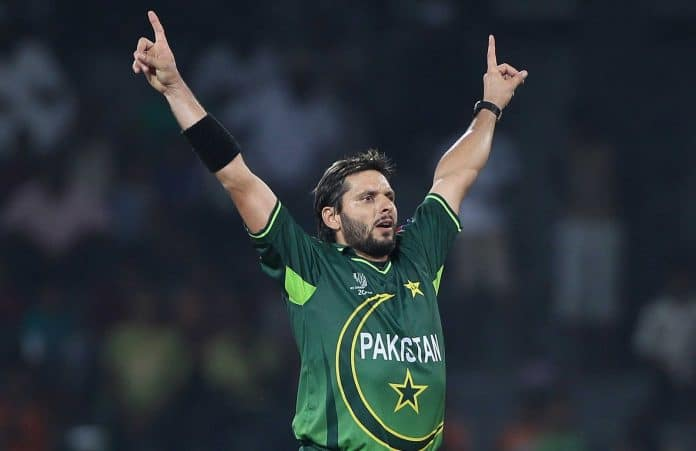 Shahid Afridi Is One Of The Player To Score Fast Half-Century