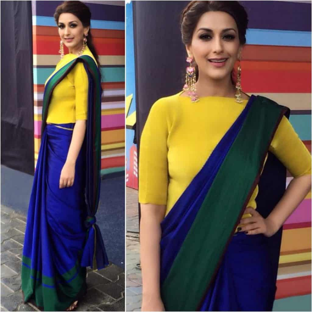 Sonali Bendre In Saree