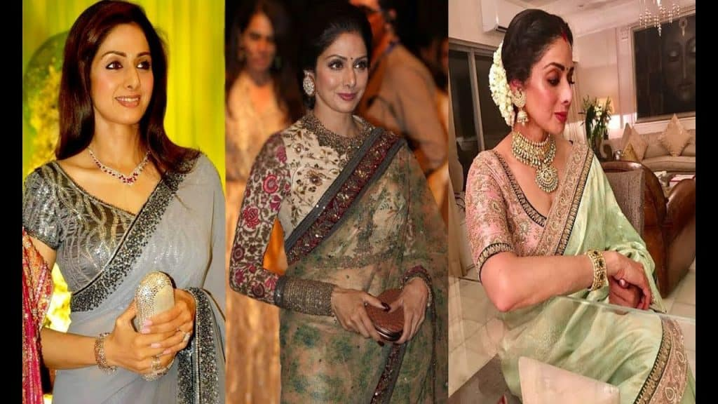 Sridevi In Saree