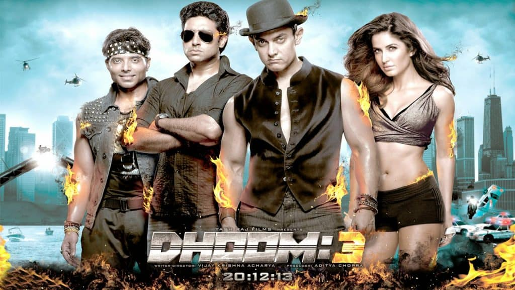 Dhoom 3 Highest Grossing Bollywood Movies