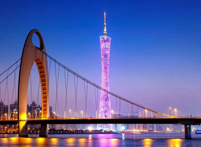 Guangzhou CTF Is China Tallest Buildings In The World