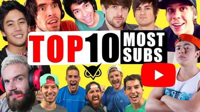 Top 10 Most Subscribed YouTube Channels & YouTubers 2019