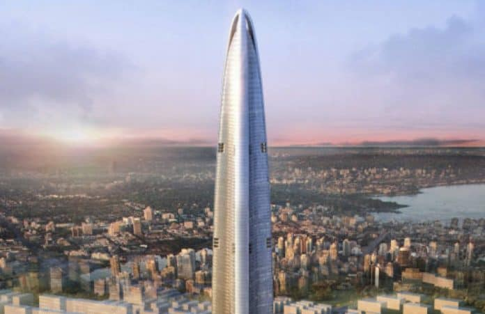 allest Buildings In The World Is Also Wuhan Greenland Center