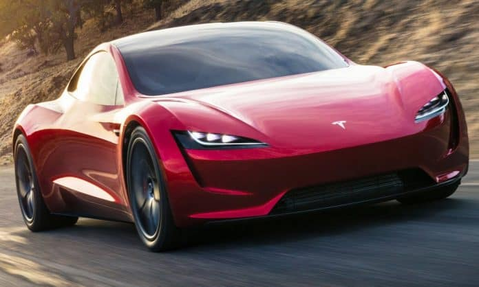 Tesla Roadster Fastest Car In The World