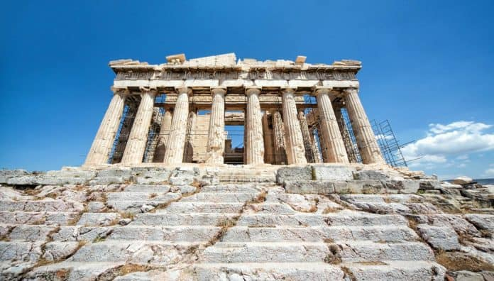 Greek Acropolis Historical Places Is Famous In The World