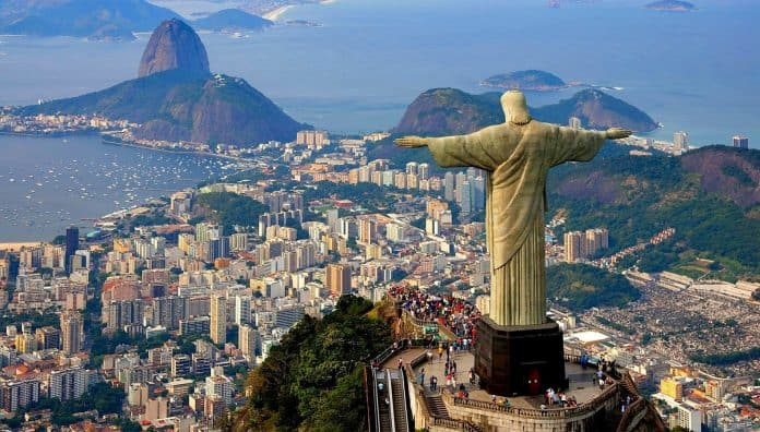 Christ The Redeemer In Portuguese Is Popular World's Historical Place