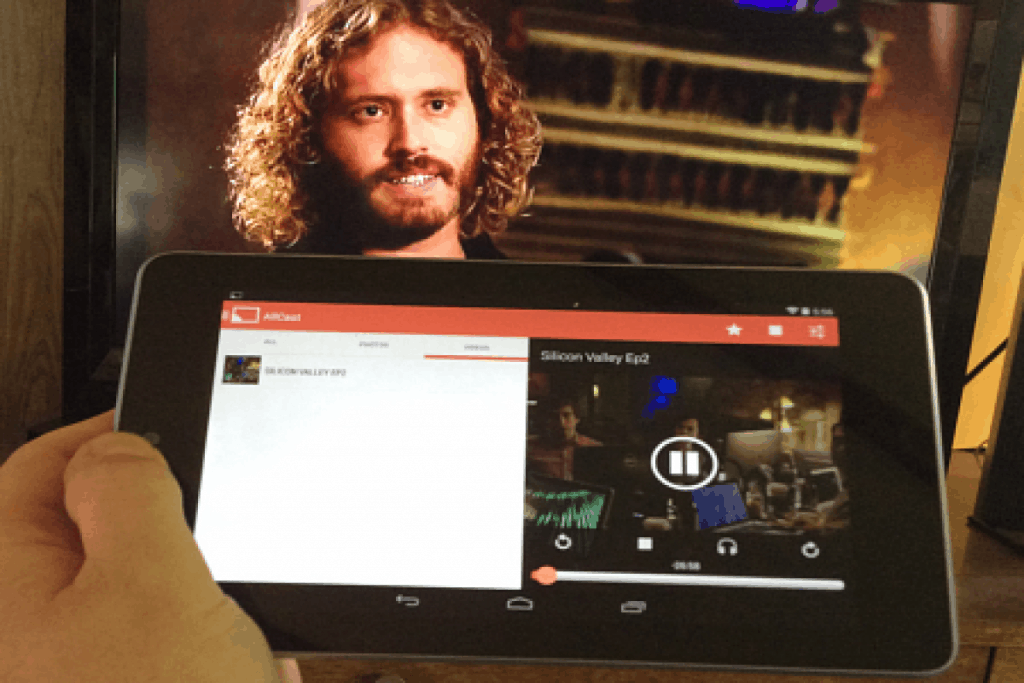 Connect Android Phone To TV With AllCast Streaming