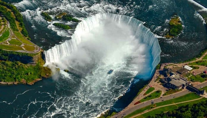 Niagara Falls Is The Famous World's Famous Waterfalls In Canada & USA