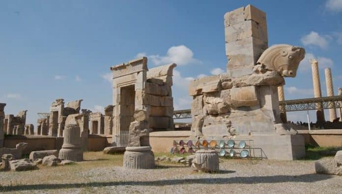 Persepolis Monument Building Is One Of The World's Famous Historical Place