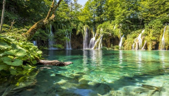 World's Most Beautiful Waterfalls Is Plitvice Waterfalls In Croatia