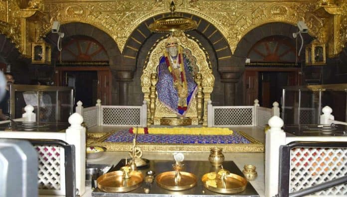 Saibaba Shrine - Shirdi Is The Temples In India