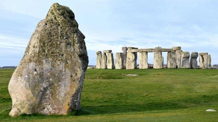 Stonehenge Is Prehistoric Monument Historical Place In The World